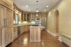 кухня конструкции домашняя новая Стоковые Изображения