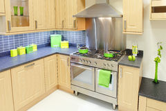 кухня конструкции домашняя Стоковое Изображение