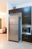 кухня конструкции Стоковое Изображение