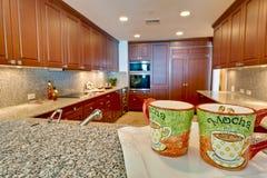 кухня кофейной чашки самомоднейшая Стоковые Фото