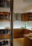 кухня кухонного шкафа Стоковые Фотографии RF