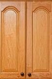 кухня кухонных шкафов Стоковые Фото
