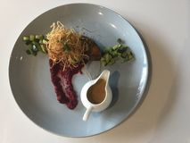 Кухня лакомки обед Стоковая Фотография