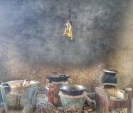 Кухня Лаоса стоковые фото