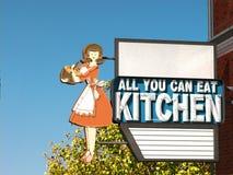 Кухня мамы Стоковое Фото