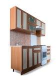 кухня мебели новая Стоковые Фотографии RF
