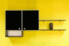 кухня мебели Стоковое Изображение