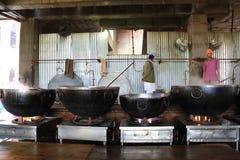 Кухня мира самая большая свободная Harmandir Sahib (золотой висок) Стоковое Изображение RF