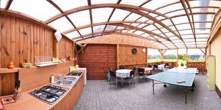 кухня напольная стоковое изображение rf