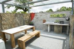 кухня напольная Стоковое фото RF