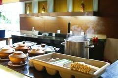 кухня насыщенный парами Стоковые Фото