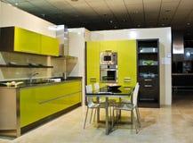 кухня новая Стоковые Фотографии RF