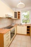 кухня новая Стоковое Изображение RF