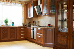 кухня новая Стоковые Изображения RF