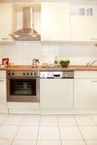 кухня новая Стоковые Изображения