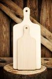 кухня оборудует деревянное Стоковая Фотография