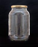 кухня опарника контейнера утлая стеклянная Стоковое Изображение RF