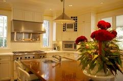 кухня острова стоковая фотография rf