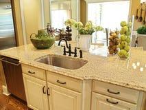 кухня острова Стоковое фото RF