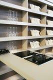 кухня предпосылки стоковая фотография rf