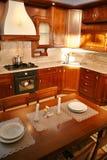 кухня реальная Стоковые Фотографии RF