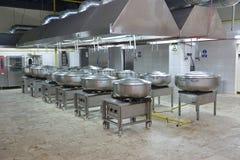 Кухня ресторана стоковая фотография rf