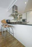 кухня самомоднейшая Стоковое Изображение RF