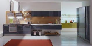кухня самомоднейшая Стоковые Фото
