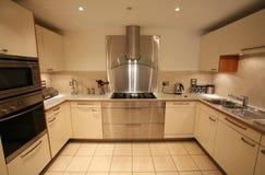 кухня самомоднейшая Стоковое фото RF