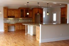 кухня самомоднейшая Стоковое Фото