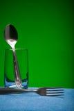 кухня стекла приборов Стоковые Фото