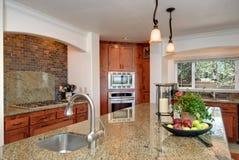 кухня стильная Стоковое Фото