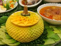 кухня тайская Стоковые Фото