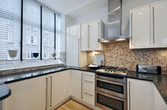 кухня франтовская Стоковая Фотография