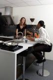 кухня химии Стоковые Изображения