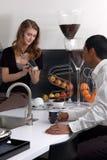 кухня химии Стоковое Изображение