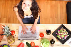 Кухня цифров Стоковое Фото