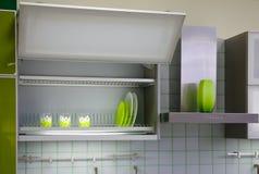 кухня шкафа стоковая фотография