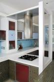 кухня шкафа Стоковое Изображение