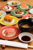 Кухня японца суш Стоковая Фотография