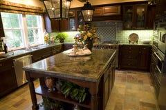 кухня 1855 Стоковое фото RF