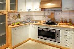 кухня 2 счетчиков Стоковая Фотография RF