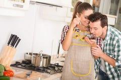 Кухня Стоковая Фотография RF