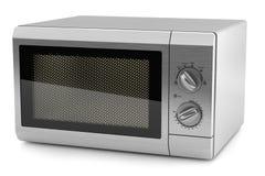 Кухня 3d металла микроволны иллюстрация вектора