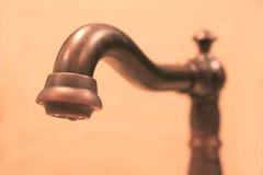 кухня faucet Стоковые Изображения RF