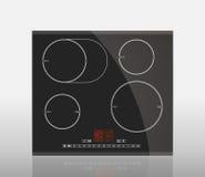 Кухня - hob индукции Стоковое Изображение RF