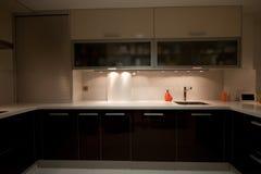 кухня v Стоковая Фотография RF