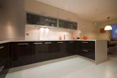 кухня v Стоковое Изображение RF