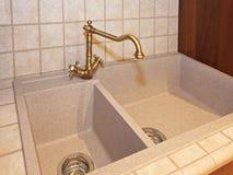 Кухонная раковина Стоковая Фотография RF