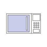Кухонный прибор микроволны Стоковая Фотография